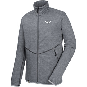 Salewa Puez Melange PL Full-Zip Midlayer-Fleece Men quiet shade